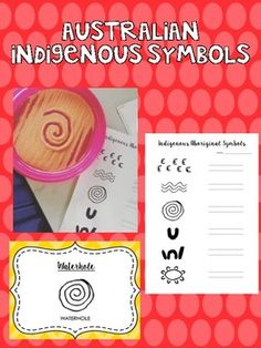 Indigenous Symbols Aboriginal Symbols, Aboriginal Education, Colored Sand, Unit Plan, Interactive Notebooks, Picture Books, Task Cards, Math Centers, Teaching Resources