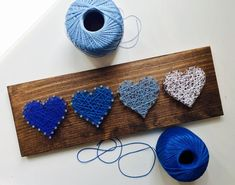 This adorable heart string art board makes the perfect Valentines Day gift for anyone! Its also the perfect addition to your little ones bedroom, playroom or nursery. It makes a very unique gift for any occasion. This listing is for a made to order row of string art hearts. The board