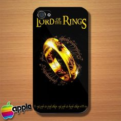 The Lord of The Rings Movie Logo iPhone 4 or 4S Case #iphone4case #Accessories #cover