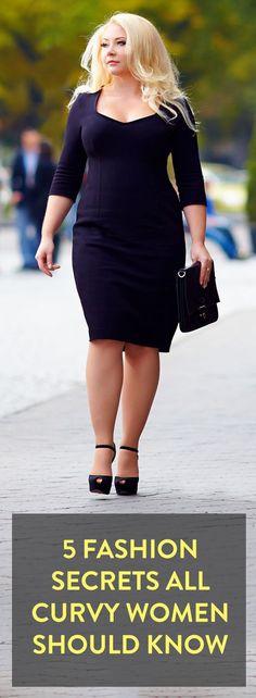 5 fashion secrets all curvy women should know: 5 fashion secrets all curvy women should know
