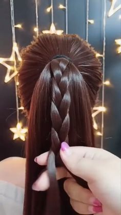 wedding hair videos So beautiful Top Hairstyles, Easy Hairstyles For Long Hair, Braids For Long Hair, Braided Hairstyles, Pirate Hairstyles, Beautiful Hairstyles, Easy Hairstyle Video, Long Hair Video, Hair Up Styles