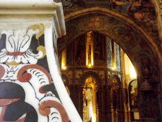 Charola do Convento de Cristo em Tomar, Santarém, Portugal