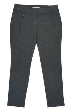 New ANN TAYLOR LOFT Size 6 P 6P Black Mini Check Knit Slim Skinny Leg Pants #AnnTaylorLOFT #DressPants
