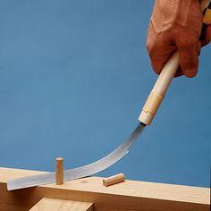 Shinwa 421 S095 Japanese Kugihiki Flush Cutting Hand Saw at Woodcraft