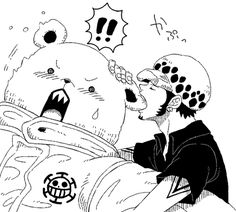 ONE PIECE | Bepo & Trafalgar Law