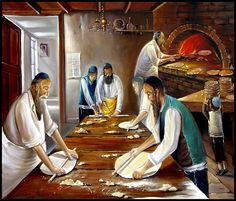 Making Matzah