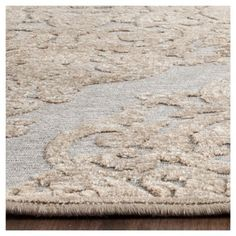 "Margeaux Viscose Area Rug - Mouse (7'6""X10'6"") - Safavieh, Brown"