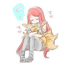 Kushina y kurama Anime Naruto, Kushina Y Naruto, Kushina Hot, Naruto Funny, Anime Chibi, Kawaii Anime, Kakashi, Naruto Family, Naruto Girls