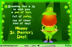 Happy St Patrick's Day to all our valuable friends and customers.