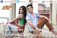 Tum #Banaras Keliye Nahi Pure Hindustan Keliye Bani Ho...  Team #DirectIshq  #Pradeepksharma #RajnieshDuggall #RajivSRuia #ArjunBijlani #NidhiSubbaiah #BabaMotionPicturesPvtLtd #bollywood #Instabollywood #bollywoodfilm #bollywoodmovie #bollywoodactresss #Bollywoodstar #movie2016 #Bollywooddirector #newtrailer