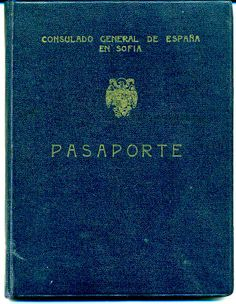 Passport issued to a Sephardi Jew by the Spanish consulate in Sofia, Bulgaria 1943 Passport issued to a Bulgarian Jew of Sephardi origin and his wife, containing Turkish and British visas which allowed them to reach Mandatory Palestine via Istanbul in the middle of World War II, despite the British policy restricting Jewish immigration. Issued on 20 January 1943.