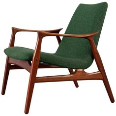 Easy Chair 240 by Arne Hovmand-Olsen for Mogens Kold, Denmark 1