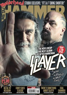 MHR270 Slayer cover from 2015 for Metal Hammer Magazine in the UK. With photographer Travis Shinn.