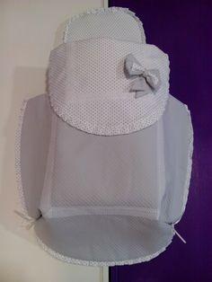 b e b e t e c a: GRIS EN CONCORD NEO Saco con cubre capazo de diseño exquisito y preciosas telas.bebetecavigo