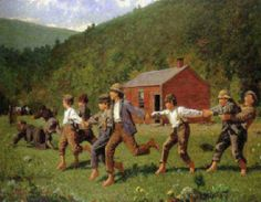 """Winslow Homer's """"Crack the Whip"""""""
