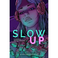 I updated the cover of Slow Up with the art of @antunesketch and I'm finally happy with it enough to leave it alone. You can find the story on https://ift.tt/2m7RekQ or by searching for my name on all major book retailers. #bookstagram #reading #cyberpunk #athens #greece #nootropics #speedreading #muse #godcomplex #newadult #kindle #smashwords #kobo #mustread #greekgods #mythology #sciencefiction #scifi #augmentation #transhumanism #lovestory #novel #ebook
