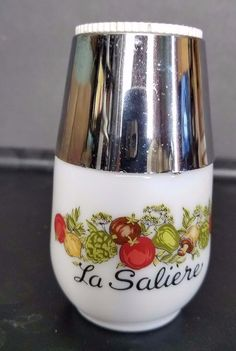 Vintage Corning Ware Salt Shaker La Saliere Gemco Spice of Life  #CorningWare  I enjoy this pin, the information a lovely vision     http://amzn.to/2betCYw