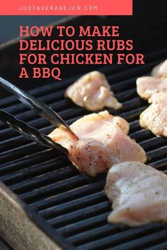 How to make delicious rubs for chicken for a BBQ Slimming World Chicken Dishes, Slimming World Diet, Slimming World Recipes, Bbq Meat, Chicken Skewers, Grilled Chicken, Food Hacks, Indian Food Recipes, A Food