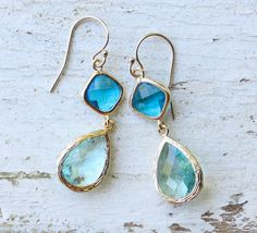 something blue earrings you'll want to wear again? We've rounded up five pairs of something blue . Blue Earrings, Drop Earrings, Bride Book, Wedding Earrings, Something Blue, Handmade Wedding, Wedding Accessories, Turquoise Bracelet, Bling