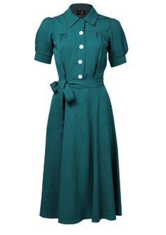 1940s shirtwaist dress by House of Foxy