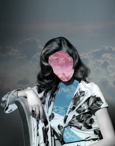 Lauren In The Sky Solange Abaziou - soyou.fr #photo #Collage #photomontage