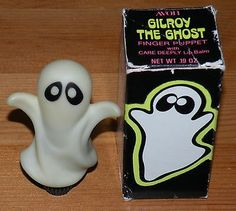 Used Vintage Avon Gilroy The Ghost Glow in the Dark Finger Puppet with Lip Balm & Box - UBB. Avon Perfume, Perfume Bottles, Vintage Avon, Vintage Toys, Sweet Memories, Childhood Memories, Avon Collectibles, Kids Makeup, Vintage Halloween Decorations