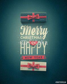 Vecteur : Happy Holidays