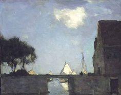 Jan Hendrik Weissenbruch, Te Noorden bij Nieuwkoop,