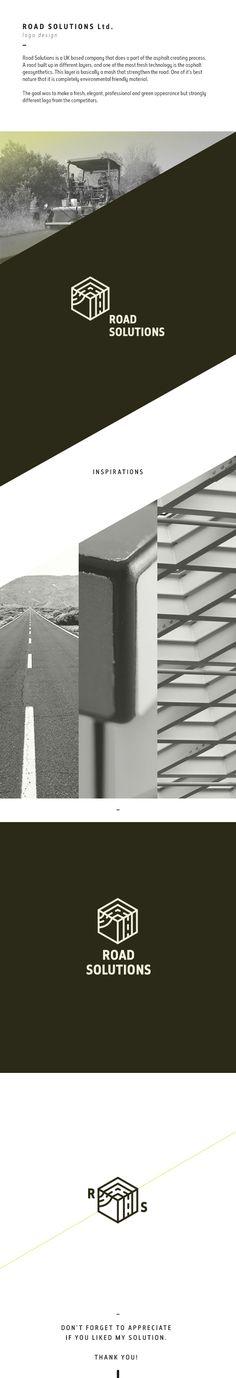 Road Solutions Ltd._logo on Behance