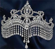 beautiful diamond tiara
