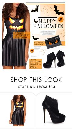 """""""Happy Halloween! BEAUTIFULHALO #3"""" by stylect ❤ liked on Polyvore featuring ASOS"""