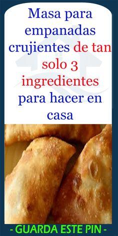 Empanadas Recipe Dough, Beef Empanadas, Mexican Dinner Recipes, Mexican Food Recipes, Boricua Recipes, Sport Nutrition, Making Homemade Pizza, Pumpkin Dessert, Tan Solo