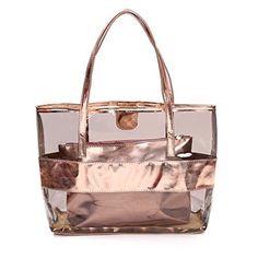 Waterprof Clear Tote Beach Shoulder Crossbody Bag. Best Carry On Luggage 1c8db10810bf1