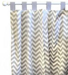 Zig Zag Baby Curtain Panels