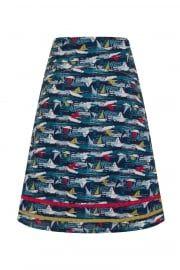 Boat Print Skirt £39...