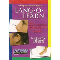 Body Parts Lang-o-Learn Cards