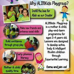 Do you know that we also offer WEEKDAY PLAYGROUP?  This session is suitable for mothers (especially WAHM or SAHM) who needs a place to PLAY with their little ones and CONNECT with other mothers and their toddlers as well.  Currently you can join us on Fridays (10-11am). WALK-INs are also welcome. Call us for more info and ask us about our latest package.  We hope to meet and play with more mothers n children at #ALIMKidsKD.  #alimkidsplaygroup #playdatewithmommy #raisingalimkids…