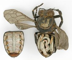 Bug model by Louis Thomas Jerôme Auzoux (1797-1880).