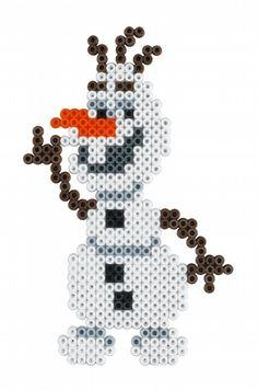 Olaf - Disney Frozen Large Gift Set Hama Beads 7946