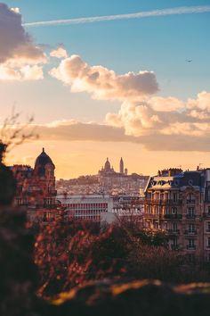 ITAP of last night's sunset in Paris : itookapicture