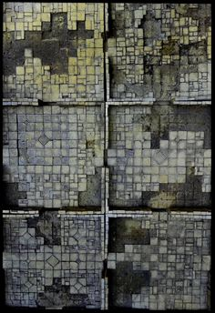 Missing tiles are a great idea for dungeon room floors. These are by Krieg Kraft, who really know how to build and paint. http://www.kriegkraft.com/