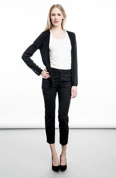 ICONA OF SWEDEN - Alexandra Blouse Jacket Black
