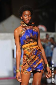 PICTURES: Sonia Tavares Brings African Fabrics Style To Cape Verde At Noite Branca 2013! |