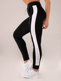 b51407db0db3 Regal High Waisted Track Pant - Black by Ryderwear are available online now  at Be Activewear. Shop online now for compression tights, yoga pants,  leggings ...