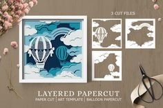 Paper Cutting Patterns, Paper Cutting Templates, Art Template, Vinyl Paper, Paper Art, Paper Flowers Craft, Paper Crafts, Shadow Box Art, Papercutting