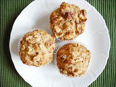 Banana walnut muffins!
