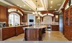 Wood, colors, trim and scroll work!