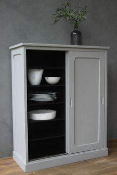 dining storage in the corner as you come in