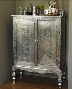 Silver Armoire by Roost