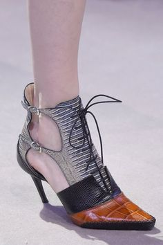 Pin for Later: Check Out the Latest Designer Shoes That Just Walked the Runway at PFW  Christian Dior Fall 2016